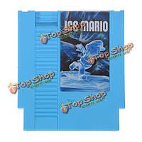 Лед Марио smb1 взломать 72 пин 8 битную картридж карточной игры для NES Нинтендо