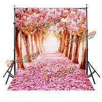 2x1.5m шелк прекрасный цветок улица студия шелк фотографии фон фото фон