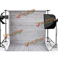 5x7 футов 1.5x2.1m шелк деревянный пол фотографии фоном фото фонов для съемки студии