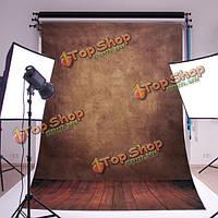 5x7ft 2.1x1.5m абстрактные коричневые стены от пола студия шелк фотографии фона фото фон, фото 1