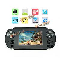 TLEX Ulike 3.5-дюймов сенсорный экран Wi-Fi игровой консоли поддержки PSP игры Андроид  система 1080p выход HDMI