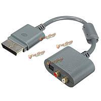 30см оптический аудио RCA звуковой адаптер конвертер кабель для Microsoft Xbox 360 Slim