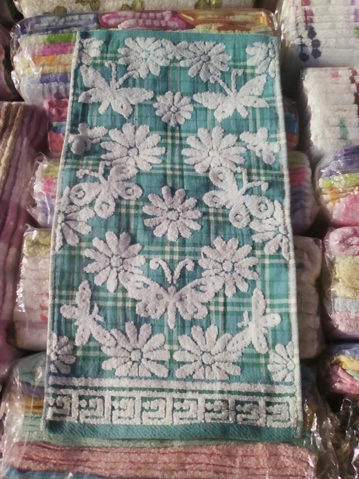 Кухонное полотенце лен-махра (упаковка 20шт.)