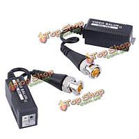 HD CCTV по витой передатчик видео балун для CVI/TVI/ахд 0-500м BZX-06A 1 пара