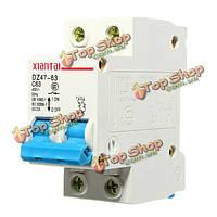 2р пластиковые миниатюрный автоматический выключатель воздушный выключатель 30А AC 400В
