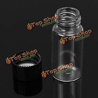 Прозрачное стекло 10 мл бутылки экспериментальных точек розлива 22 * 50 мм