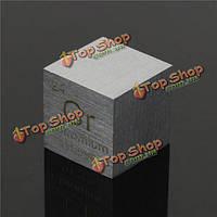 10мм 99.94% хрома чистота металла CR вырезанный элемент таблицы Менделеева Cube