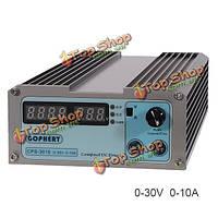 CPS-3010 0-30В 0-10А компактный цифровой регулируемый источник питания постоянного тока 110В/220В