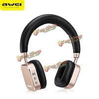 AWEI A900BL спорт Bluetooth  4.0 CVC 6.0 гарнитура голосового управления шумоподавления с микрофоном