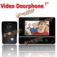 Сенсорный цветной экран видео домофон CMOS камера ночного видения селекторной SY811MKB11 7 дюймов TFT Эннио