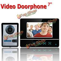Сенсорный цветной экран видео домофон CMOS камера ночного видения селекторной SY811FA11 7 дюймов TFT Эннио