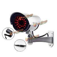 CA-11-05 LED Легкий открытый поддельные манекен Cctv simulational камеры IR 2-в-1 30шт питания