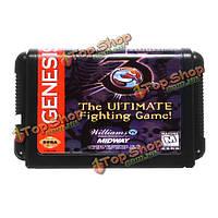 Mortal Kombat 3 конечной файтинг 16бит М.Д. игра картридж карты для SEGA МегаДрайв генеза
