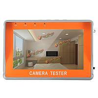 LCD  аудио охранного видеонаблюдения тестер камеры видеонаблюдения ахд тест УТФ монитор TFT 4.3-дюймов 12v