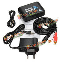 Беспроводная связь Bluetooth v4.0 аудио приемник с разъемом 3.5 мм RCA оптический выход для домашнего кинотеатра смартфон таблетки ноутбук настоль