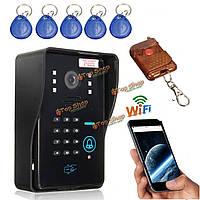 Видео камера домофон домофона дверной звонок непромокаемые IR sysd SMAR twireless WiFi удаленного
