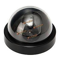 4шт моделирование LED сигнализация Видеодомофон муляж камеры безопасности крытый открытый предупреждающий знак