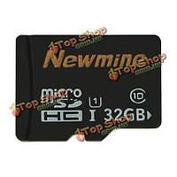 Микро class10 SDHC карты памяти SD для смартфонов mp3 камеры 32GB newmine карты памяти