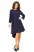 Платье с полуоткрытой спиной