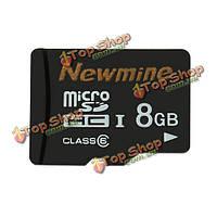 Newmine карта памяти 8Гб Micro SDHC карты памяти SD class10 для смартфона MP3 камеры