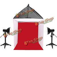 24-дюймов 60x60x60см фотоаппарат фотографии студии софтбокс съемки коробка свет палатка комплект