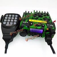 Qyt кт-8900 Mini мобильный автомобильный радиоприемник двухдиапазонный v/uhf136-174/400-480МГц приемопередатчик камуфляж цвет