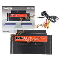 Retrogen адаптер Сега генезис мега привод Нинтендо SNES картридж конвертер