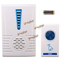 Домашней безопасности цифровой беспроводной беспроводной дверной звонок дверной колокольчик колокол комплект 32 музыка