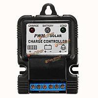Автоматический заряд PWM панель солнечных батарей регулятор батареи контроллер зарядного устройства 10A 6v / 12v
