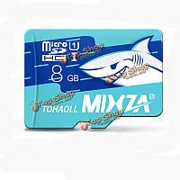 Карта памяти 8GB микро SD class10 Mixza