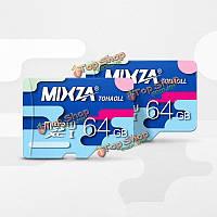 Карта Микро SD class10 64GB Mixza