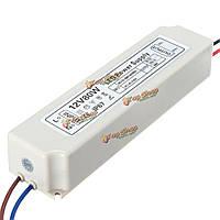 80Вт IP67 ac100-264v к DC12V импульсный источник питания адаптер драйвер