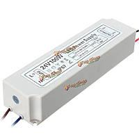 100Вт IP67 ac100-264v к DC24V импульсный источник питания адаптер драйвер