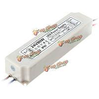 80Вт IP67 ac100-264v к DC24V импульсный источник питания адаптер драйвер