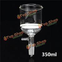 350мл совместный 24/40 фильтр воронки Бюхнера лаборатории стеклянную посуду из боросиликатного стекла