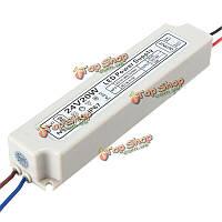 20Вт IP67 ac100-264v к DC24V импульсный источник питания адаптер драйвер