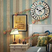 Круглый лес часы настенные деревянные кварцевый механизм реминисценция декор
