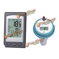 Водонепроницаемый беспроводной термометр бассейн спа горячая ванна термометр