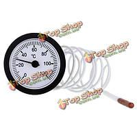 TS-W53 0-120 стоградусно датчик температуры термометр набора капиллярной воды жидкость с датчиком 1.5 м, фото 1