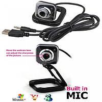 Вебкамера веб-камера с микрофоном USB Webcam, фото 1