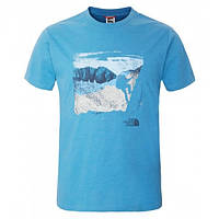 Футболка The North Face M S/S MOUNTAIN TEE T0CEQ6-BH0-HERON BLUE