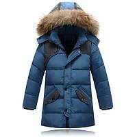 Детский пуховик куртка для мальчика