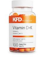 KFD Vitamin D3+K2 (MK-7) 100 таблеток