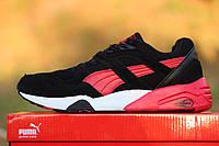 Puma Trinomic кроссовки, черные с красными вставками