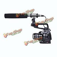 BOYA BY-pvm1000l трансляции микрофона интервью Ружье для Canon Nikon видеокамера Pentax