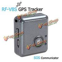 Устройство слежения и Сос коммуникатор Дистанционный ВЧ-V8s мини GPS прослушивание GSM GPRS трекер