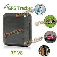 ВЧ-v8 мини квада высокая эффективность позиционирования противоугонное GSM GPS GPRS трекер сигнализация с вытяжным шнуром