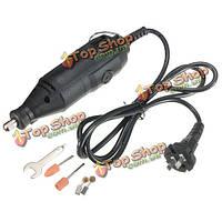 AC 110В многофункциональный электрический ручная дрель домашняя зарядка дрель комплект поделки