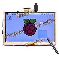 5-дюймов 800 х 480 HDMI TFT LCD  сенсорный экран Raspberry Pi 3 модели б/2 модель б/б +/а +/б