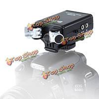 BOYA BY-sm80 стерео видео микрофон с лобового стекла для Canon Nikon DSLR камеры видеокамеры